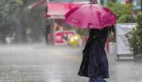 """Meteorolojiden """"şiddetli yağış"""" uyarısı"""
