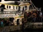 Akdenizde batan göçmen teknesi çıkarıldı