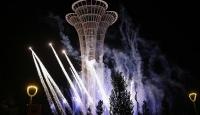 EXPO 2016 Antalya Kulesindeki gösteri izleyenleri büyüledi