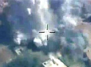 DEAŞ unsurları bulunan dört hedefe beş milli bomba atıldı