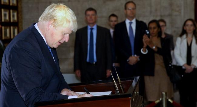 Boris Johnsonın Türkiyeyi ziyareti