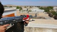 PKKlı teröristler jandarma karakoluna taciz ateşi açtı