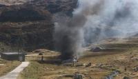 İsviçrede askeri helikopter düştü