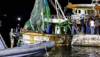 Batan göçmen teknesinin sahibi ve mürettebatı gözaltına alındı