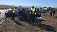 Konyada trafik kazası: 2 ölü