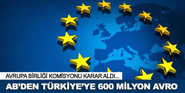 ABden Türkiyeye 600 milyon avro