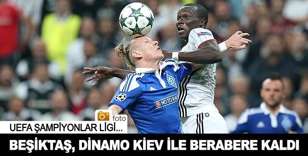 Beşiktaş Dinamo Kiev Maç Özeti