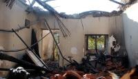 Elektrik kontağından çıkan yangında 2 ev kül oldu