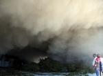 Kadirli Organize Sanayi Bölgesinde yangın