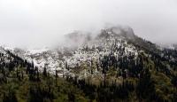 Ardahanda kar yağışı etkili oldu