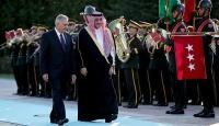 Başbakan Yıldırım, Veliaht Prensini resmi törenle karşıladı