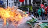 "Brükselde ""kemer sıkma"" protestosu"