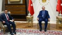 Cumhurbaşkanı Erdoğan, AYM Başkanı Arslanı kabul etti