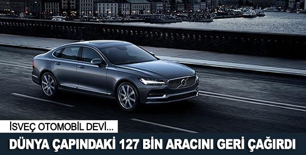 İsveç otomobil devi 127 bin aracını geri çağırdı
