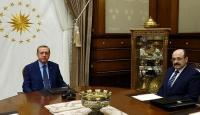 Cumhurbaşkanı Erdoğan, YÖK Başkanını kabul etti