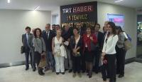 Yabancı gazetecilerden TRTye ziyaret