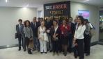 Gazetecilerden TRT'ye ziyaret
