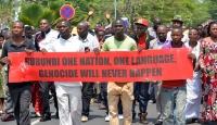 Yüzlerce Burundili, BM raporunu protesto etti