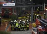 Almanyada hastane yangını