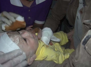 Mucize bebek Hamide