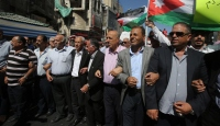 Ürdün ile İsrail arasındaki doğalgaz anlaşması protesto edildi