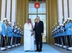 Cumhurbaşkanı Recep Tayyip Erdoğanın kabulü