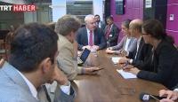7 Ülkenin gazetecilerinden TRTye ziyaret