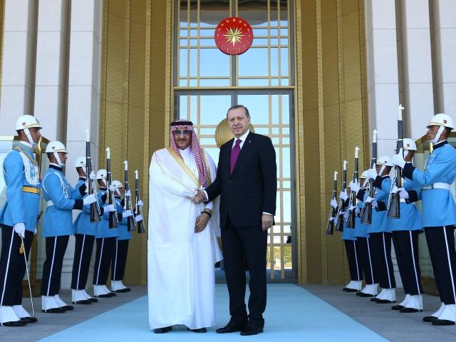 Cumhurbaşkanı Erdoğan, Veliaht Prens Nayifi kabul etti