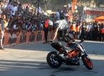 Motosiklet sporcusu Bagoros Ramallahta