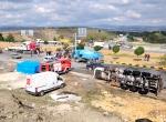 Kastamonuda etil alkol yüklü tanker yandı