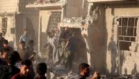 Şamda yerleşim yerine yapılan saldırıda 7 çocuk öldü