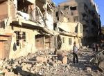 Şamda yerleşim yerine saldırı