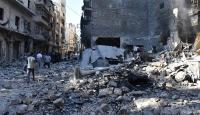 Halepte deprem etkisine yol açan saldırıda 30 kişi öldü