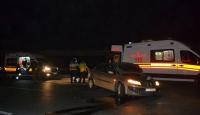 Edirnede trafik kazası: 4 yaralı