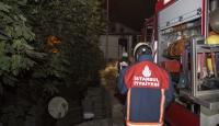 İstanbul Fatihte gecekondu yangını