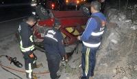 Muğlada otomobil ile minibüs çarpıştı: 1 ölü