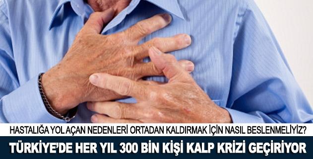 Türkiyede her yıl 300 bin kişi kalp krizi geçiriyor