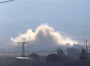 Suriyede Rus ve rejime ait savaş uçakları Hamayı bombaladı