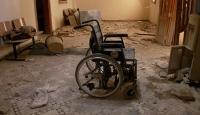 Halepte sahra hastanesine varil bombalı saldırı