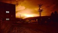 Siirtte doğalgaz hattına sabotaj düzenlendi