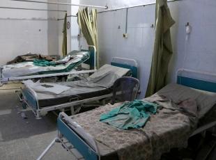Halepte sahra hastanesine saldırı