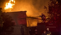 Gaziantepte tutkal fabrikasında yangın