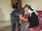 115 yaşındaki Ayşe Uzkar'ın 1 Ekim Dünya Yaşlılar Günü