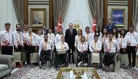 Cumhurbaşkanı Erdoğan Rioda madalya alan sporcuları kabul etti