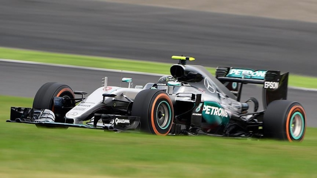 Japonyada zafer Rosbergin