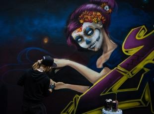 """Meksika'da """"Grafiti Festivali"""""""