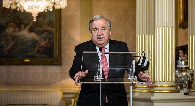 BM Genel Sekreteri Guterres Türkiyeye geliyor