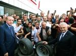 Cumhurbaşkanı Erdoğan ve Başbakan Yıldırımdan esnaf ziyareti