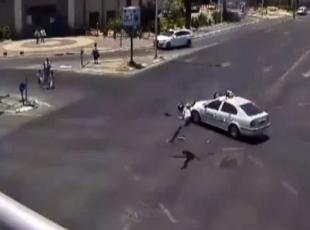 İsrailde feci kaza!