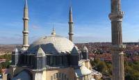 Edirnede tarihi yapıların kurşunları yenileniyor